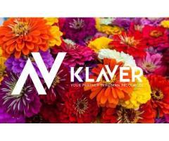 Prace ogrodowe przy kwiatach w Holandii