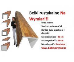 Na wymiar Maskownice, Belki Drewniane, imitacja, LETNIA PROMOCJA